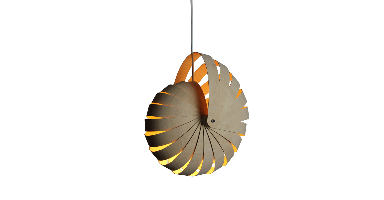 Nautilus lampshade small natural white background - Designer Designtree.jpg