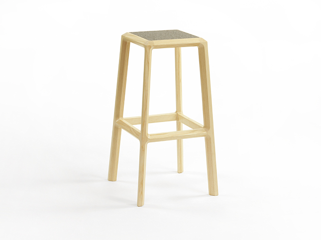 Chamfer stool tall 01 - Designer Designtree.jpg