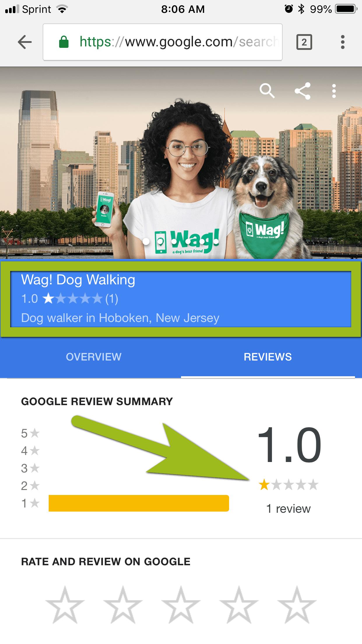 Wag! App Hoboken Dog Walking Review 1.png