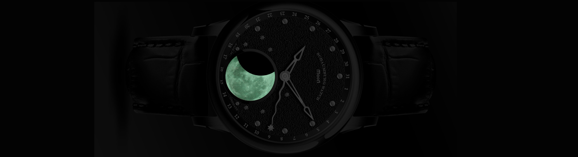 schaumburg watch perpetual moon collection