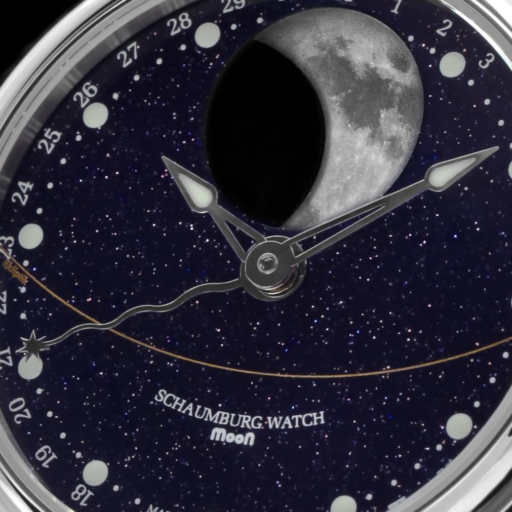 Schaumburg Watch Perpetual MooN Galaxy