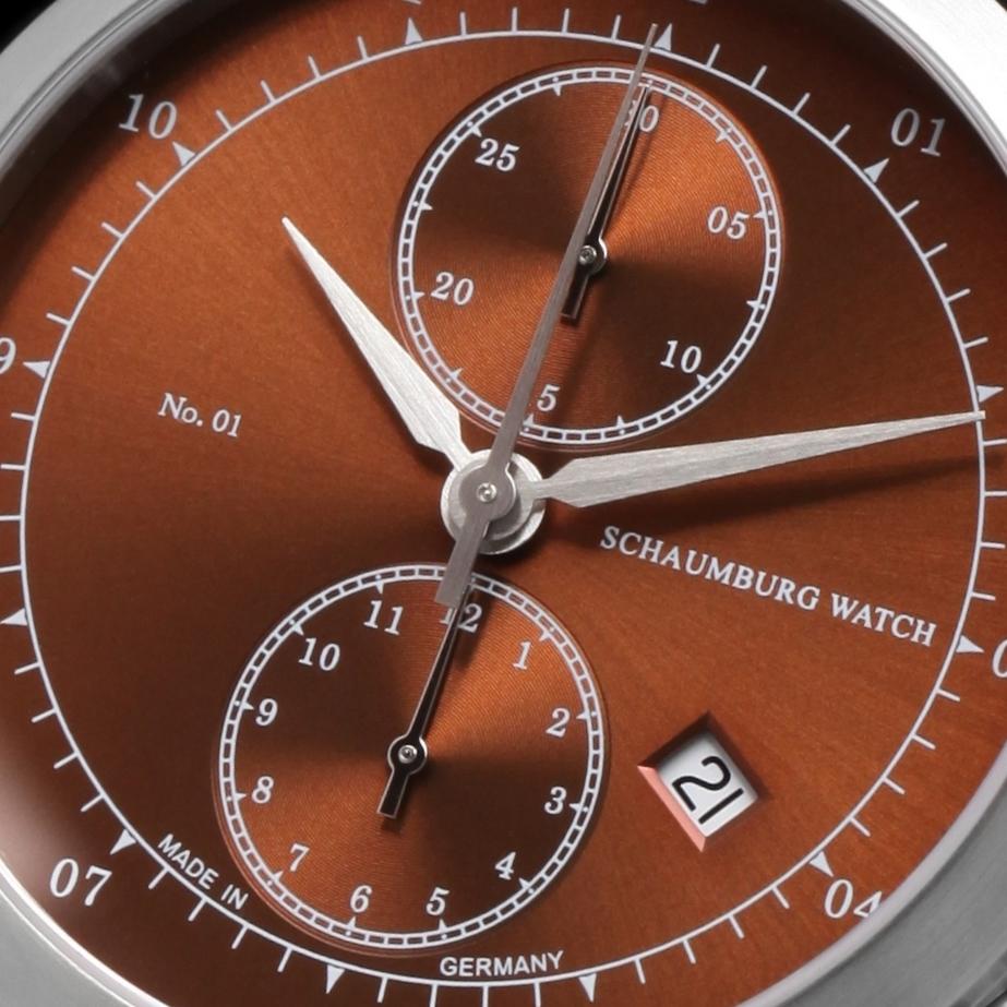 Schaumburg Watch Chronograph No.01
