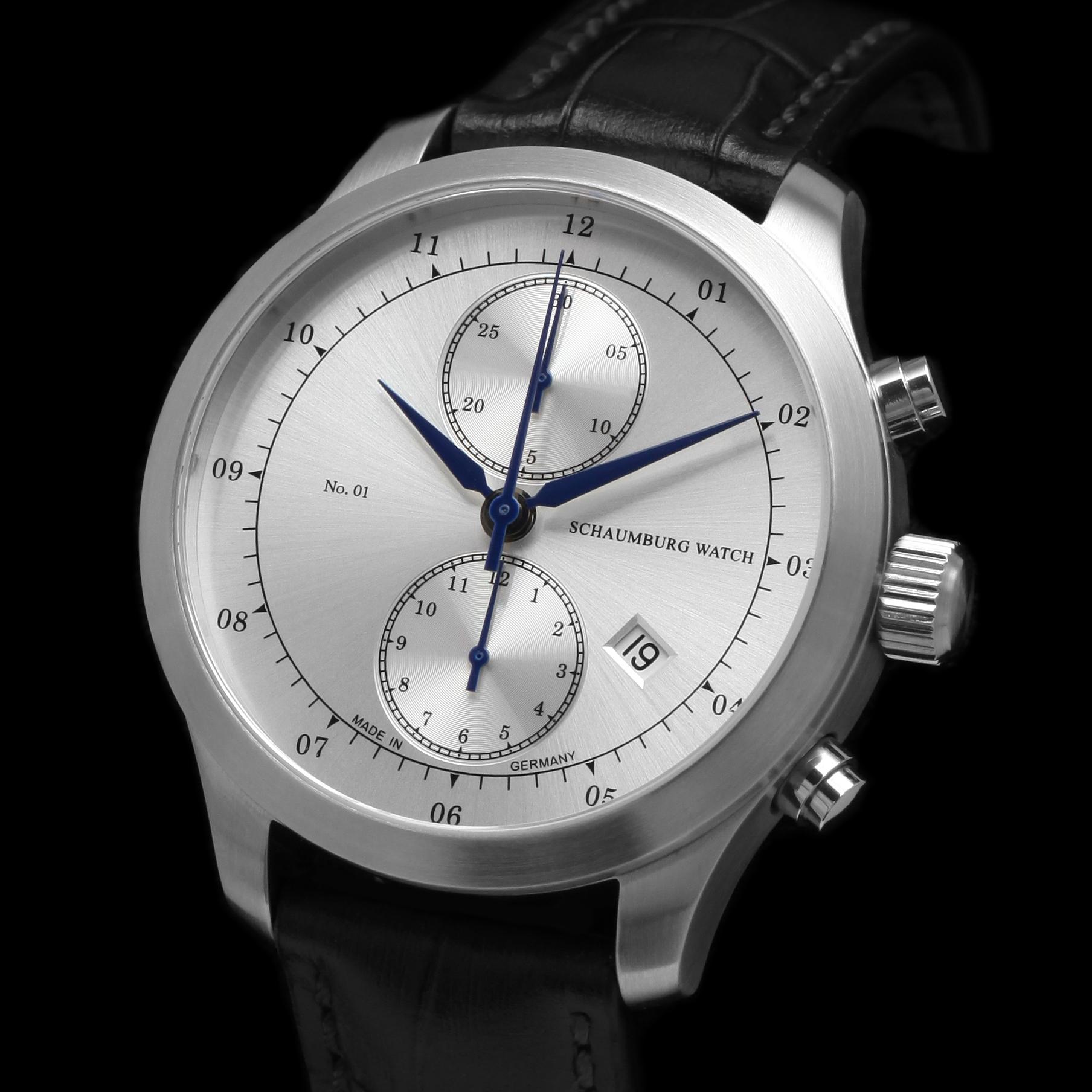 Schaumburg Watch Chronograph 01