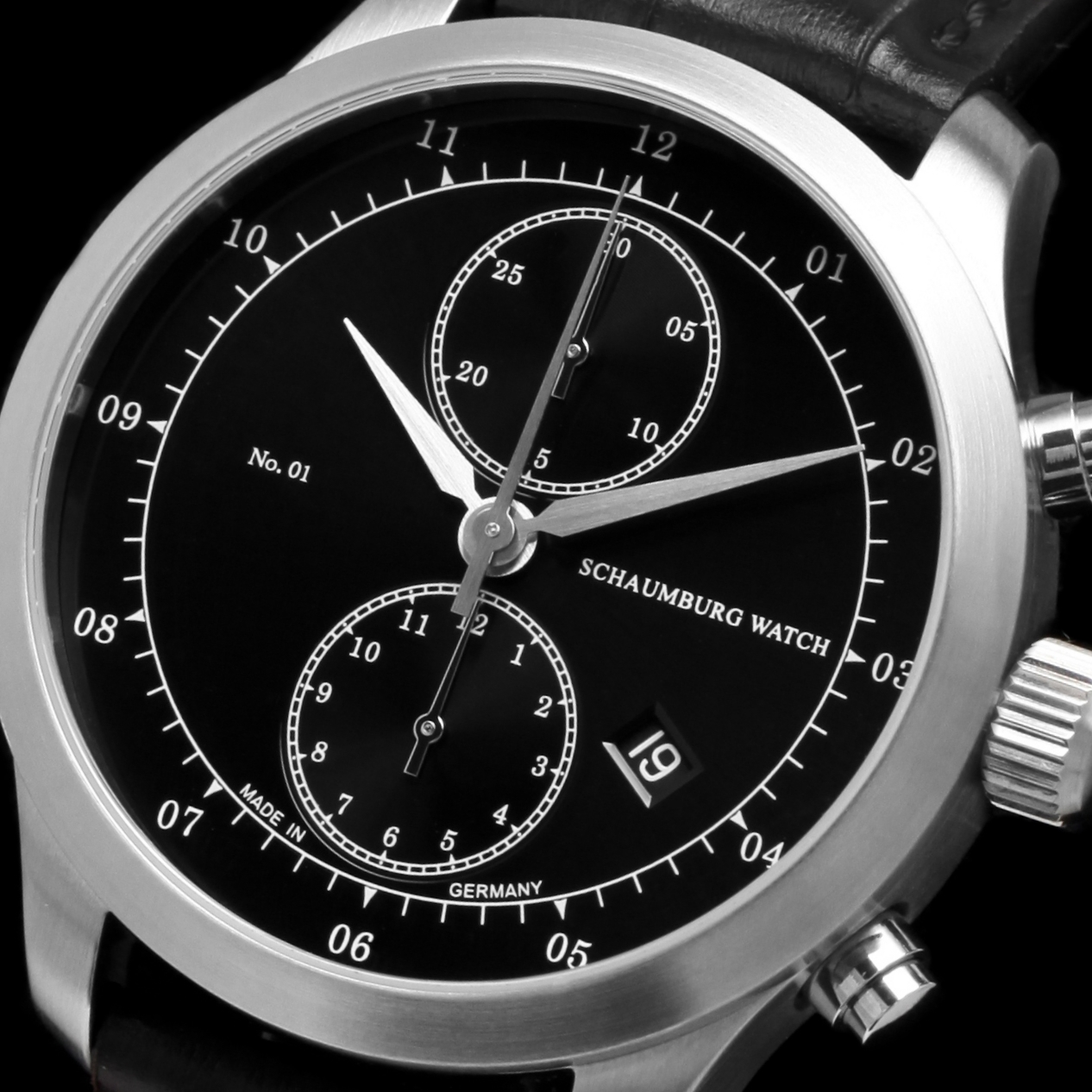 Schaumburg Watch Chronograph No. 01