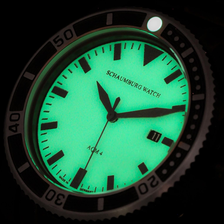 Schaumburg Watch AQM 4 Black PVD