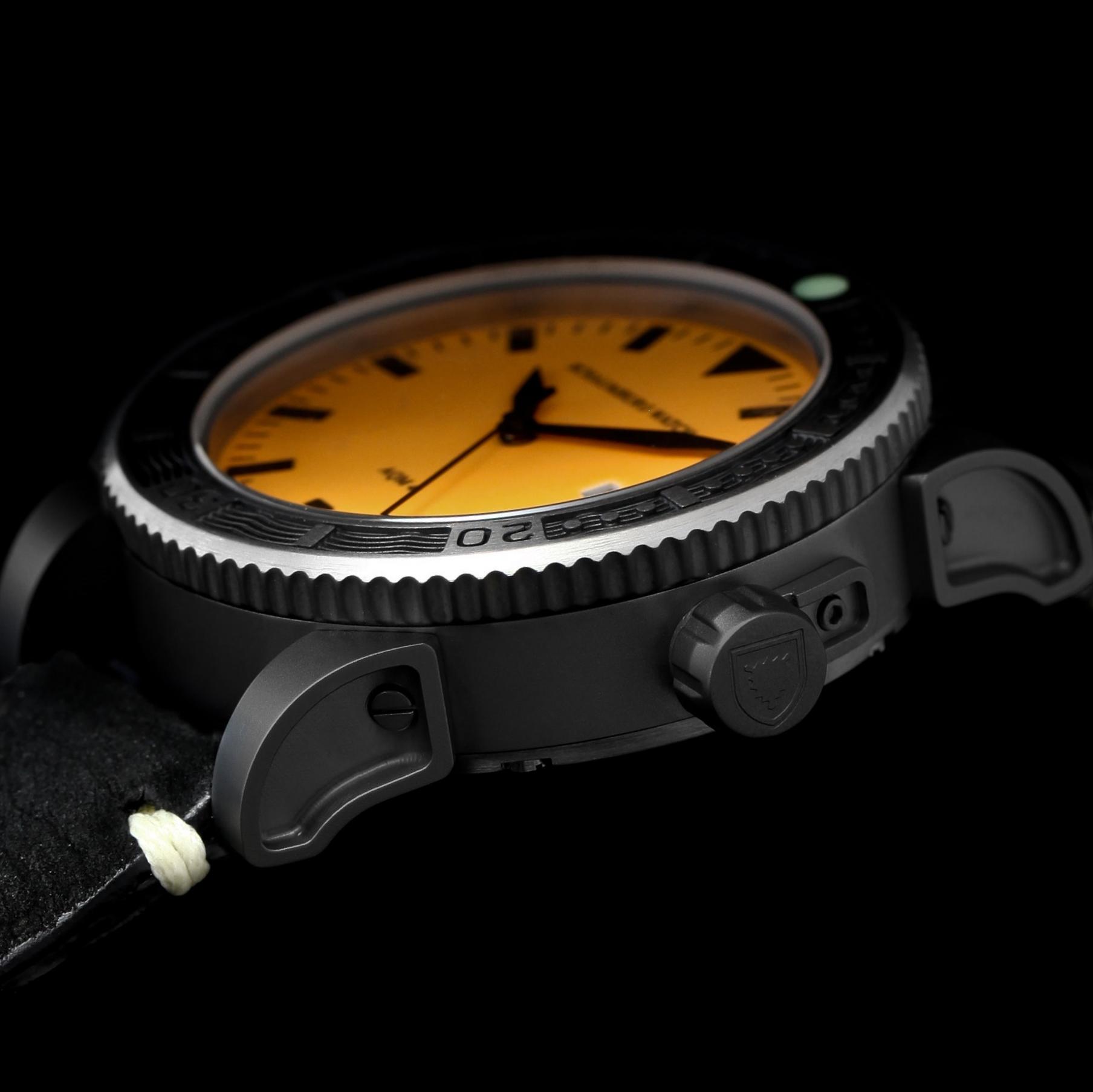 Schaumburg Watch AQM 4 Orange PVD