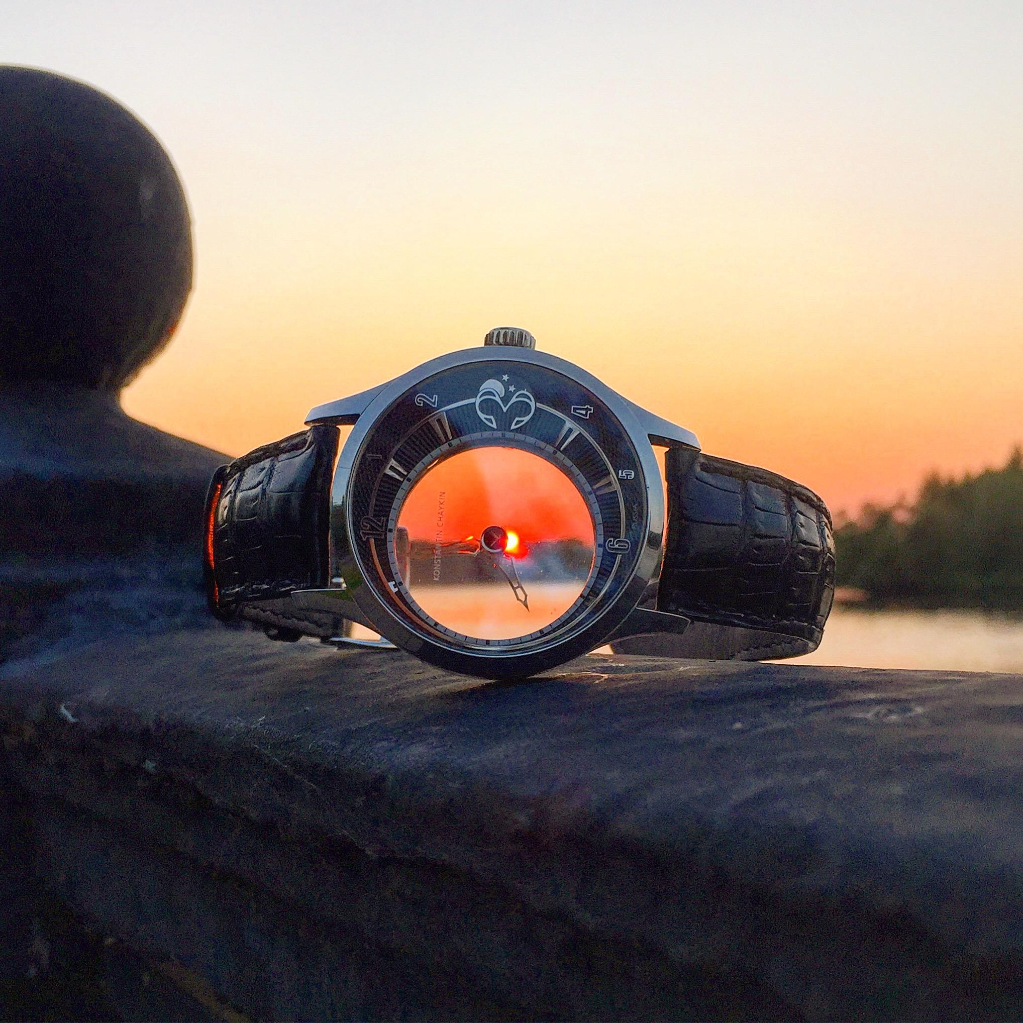 Konstantin Chaykin Levitas Mystery watch