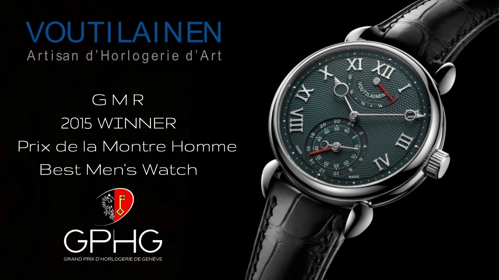 Kari Voutilainen GMR at Chronolux Fine Watches