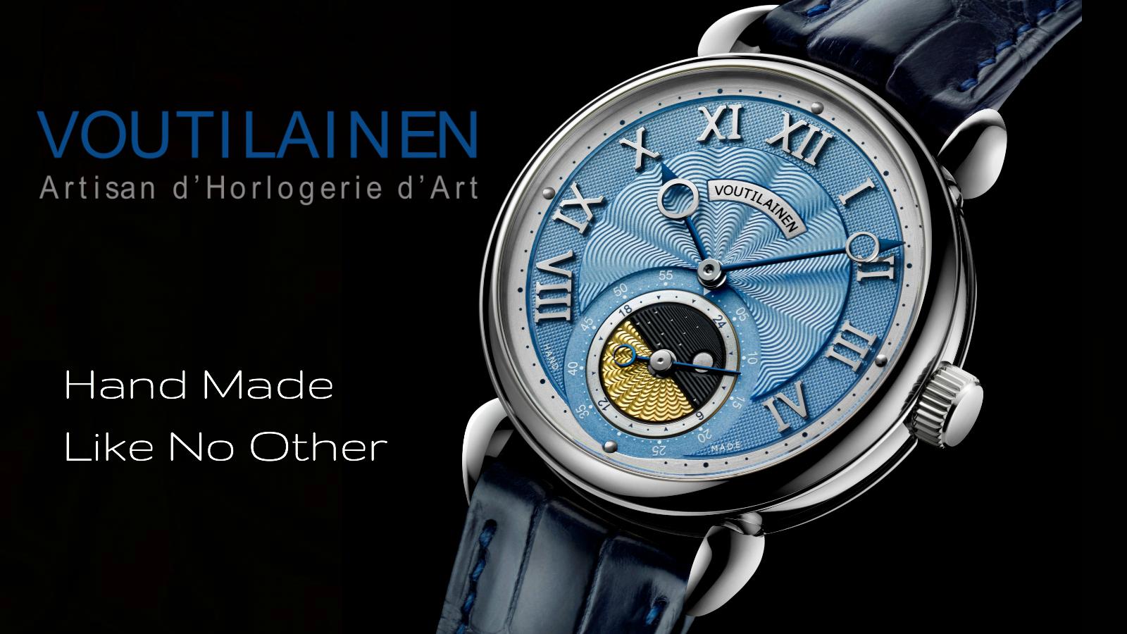 Voutilainen GMT 6 by Kari Voutilainen at Chronolux Fine Watches