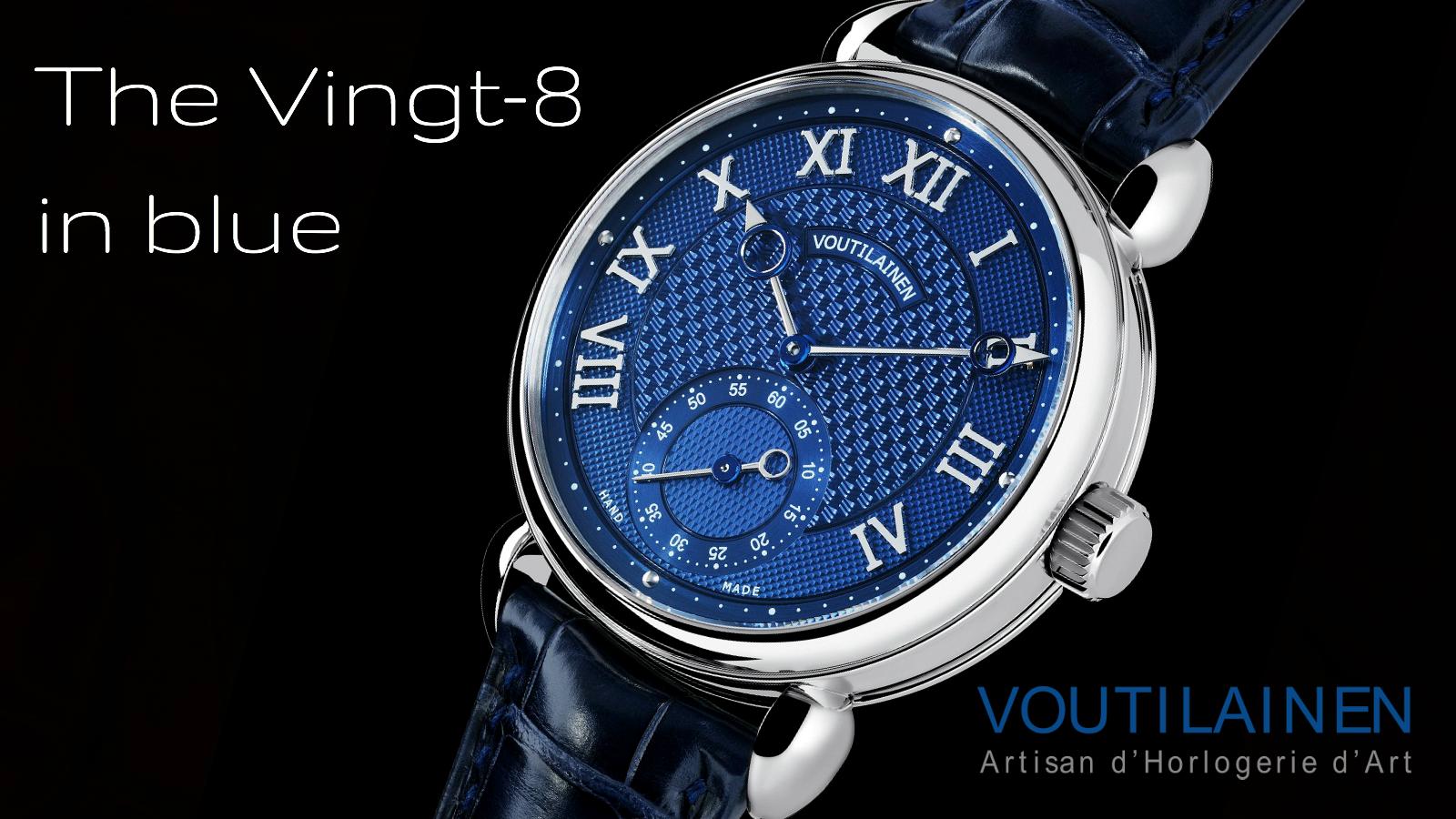 Vingt-8 by Kari Voutilainen at Chronolux Fine Watches