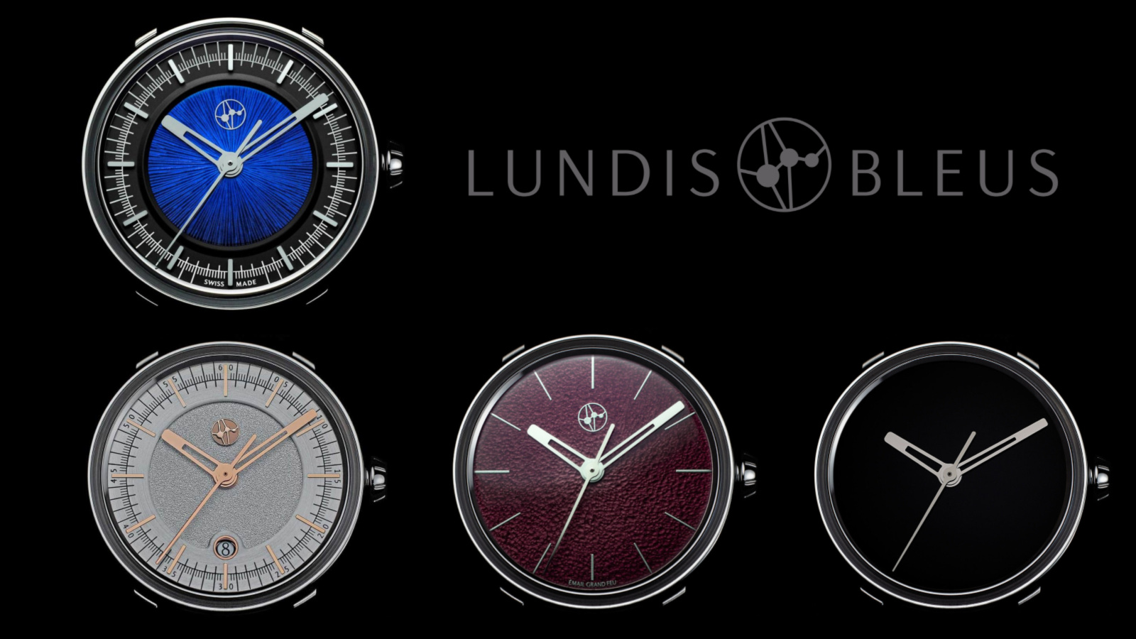 Lundis Bleus Swiss watches by Chronolux Fine Watches