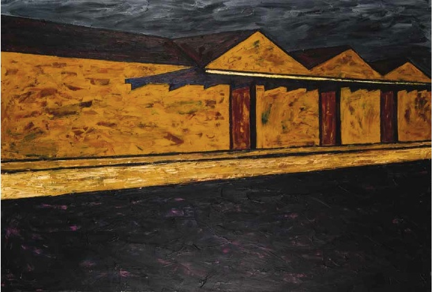 Co-op, 1981 oil:canvas_120 x 180cm
