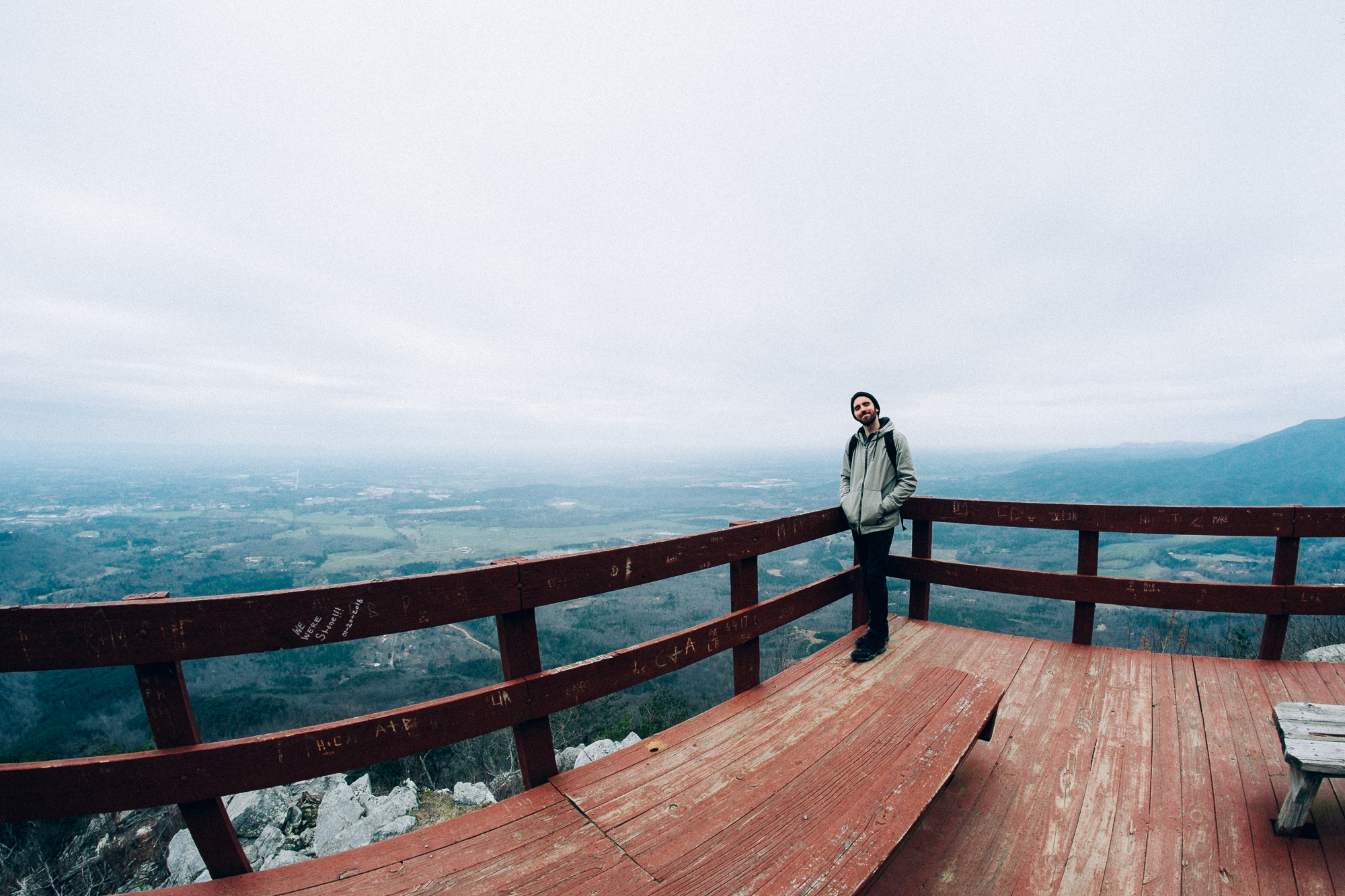 The views here may have even been better than the scenic lookout we went to in  Bergen, Norway .