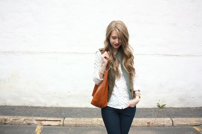 chelsea_lane_zipped_minneapolis_fashion_blog_blogger_jcrew_dot_button_up_gap_denim_legging_sam_edelman_petty_putty_madewell_transport_tote_par_boutique_vest3.JPG