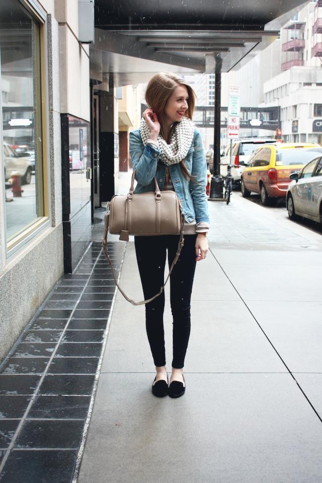 minneapolis_fashion_blog_blogger_madewell_heart_sweater_abercrombie_denim_jacket_jcrew_pixie_pants_black_velvet_loafers_urban_outfitters_francesca's_gap_cowl_scarf_red_lipstick_revlon3.jpg