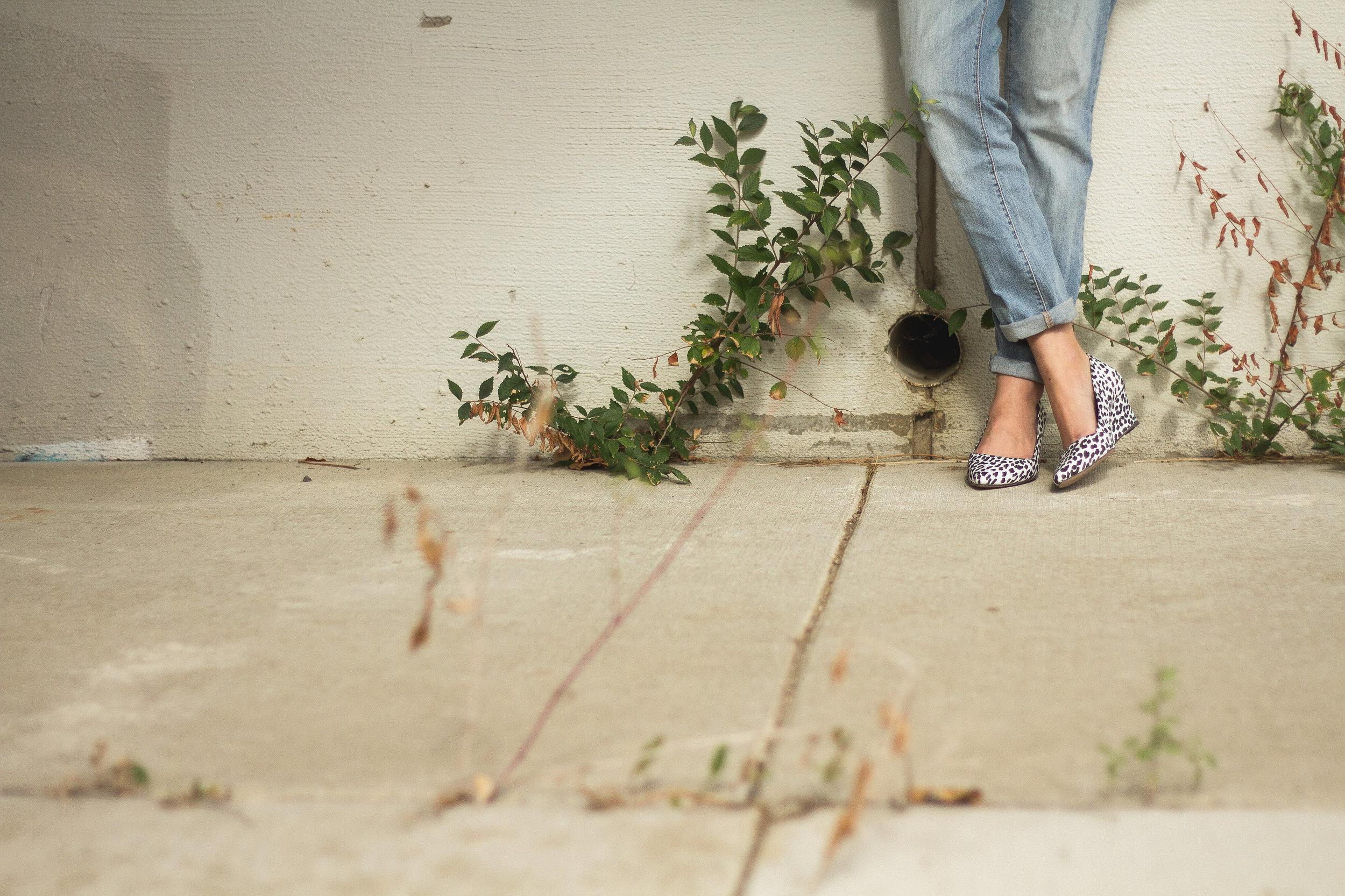 truelane in JustFab boyfriend jeans and Shoes of Prey heels.jpg