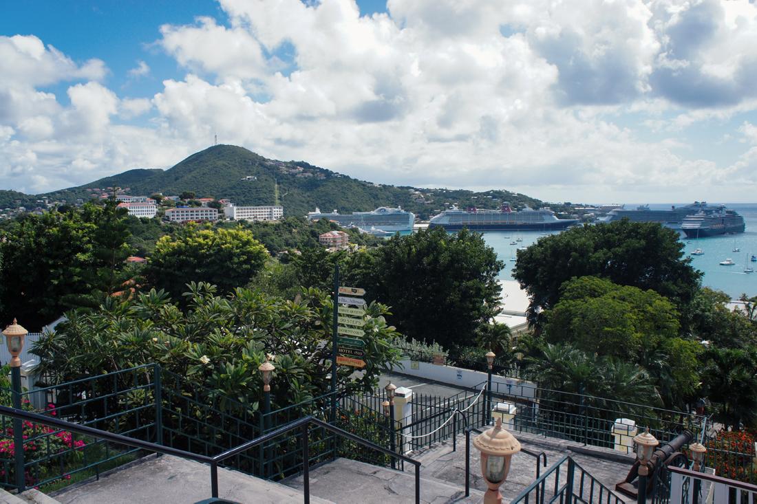 Blackbeard's Castle at St. Thomas, U.S. Virgin Islands | truelane