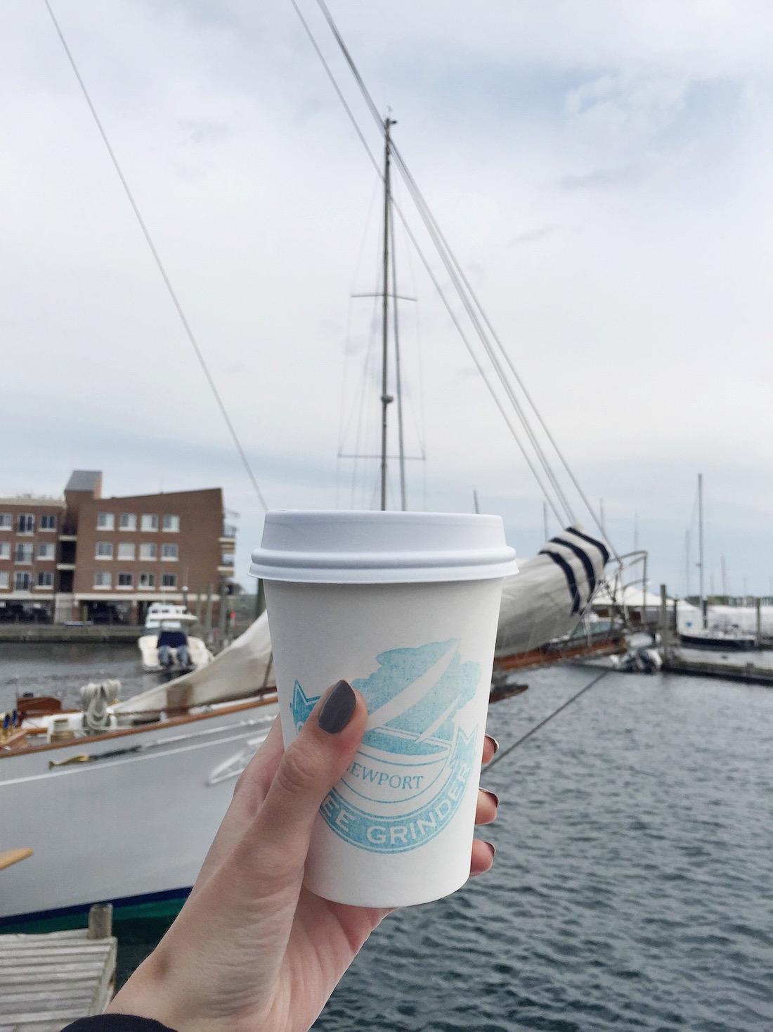 The Coffee Grinder, Bannister's Wharf | truelane