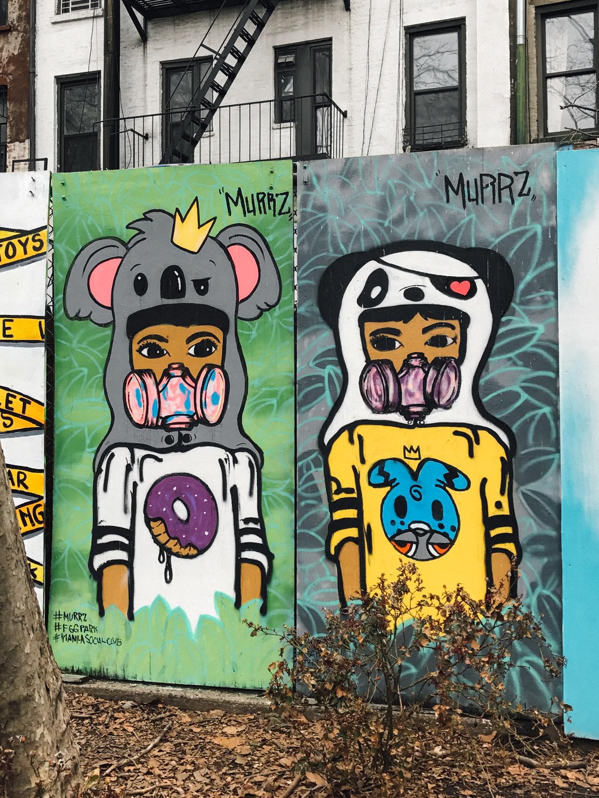 Murrz     |   First Street Green Art Park