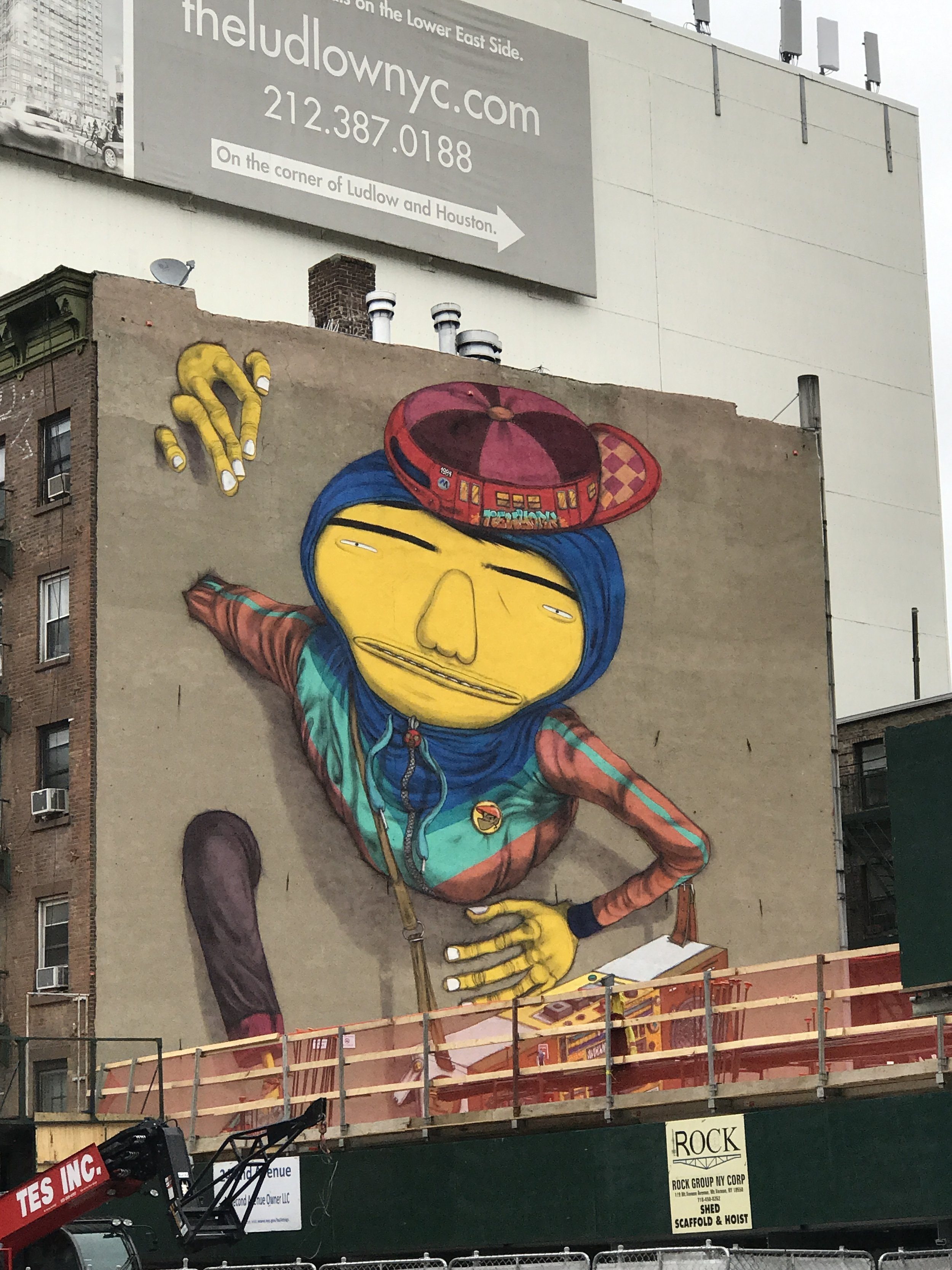 Os Gemeos     |  2nd Avenue and 1st Street, East Village