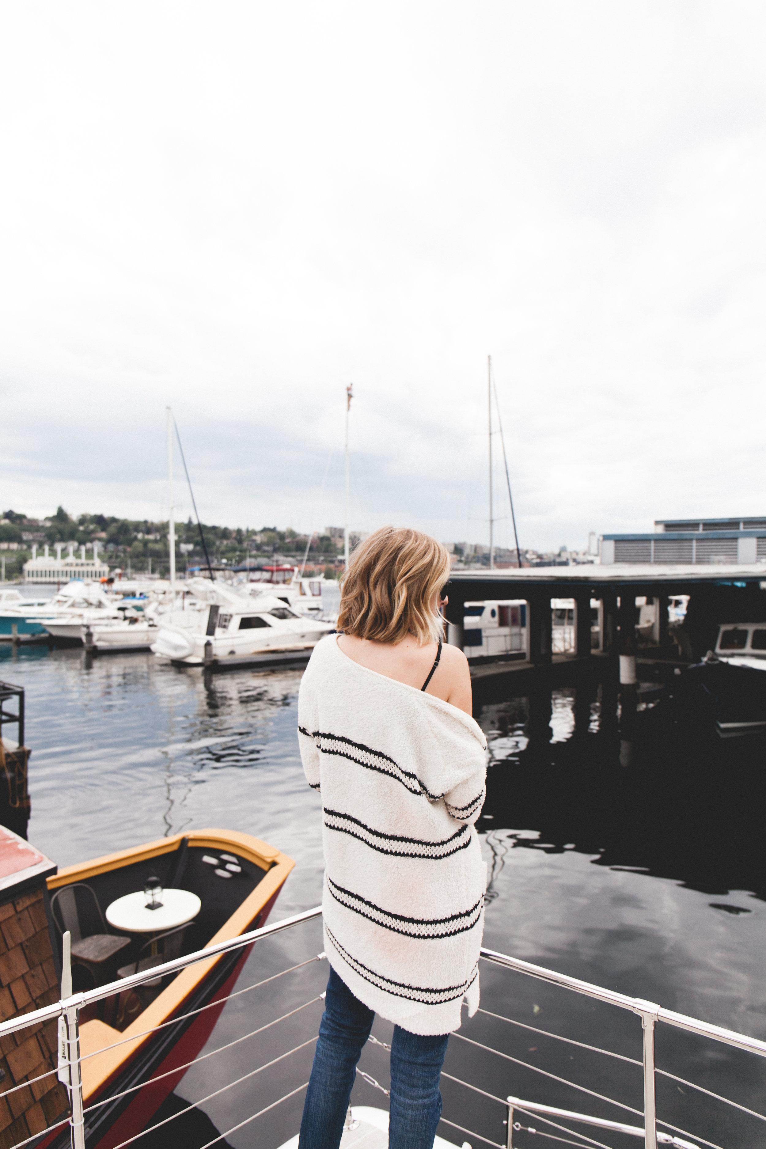 Seattle Staycation: Lake Union House Boat | truelane