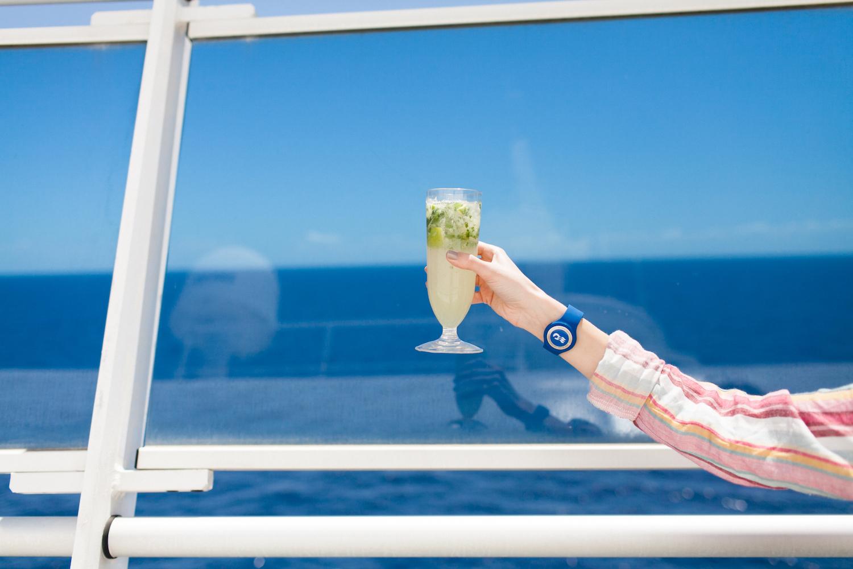 Princess Cruises, travel, Caribbean cruise, Ocean Medallion, cruising, mojito, summer vacation, spring break, Caribbean Sea, ocean, cruise technology