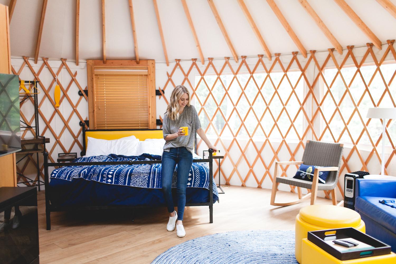 Yurt Glamping At Lakedale Resort Truelane