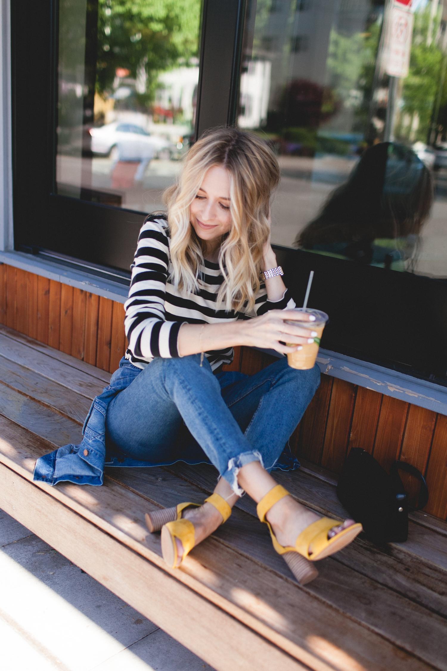 Yellow Summer Sandals   truelane