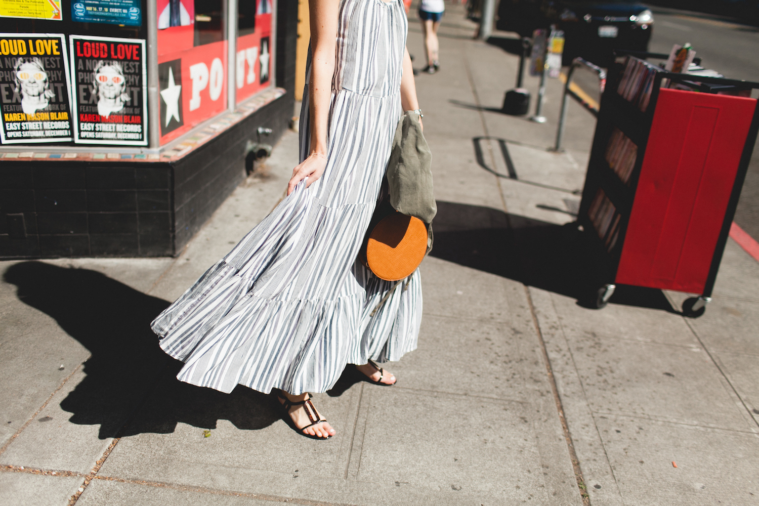 Tiered Maxi Dress | truelane