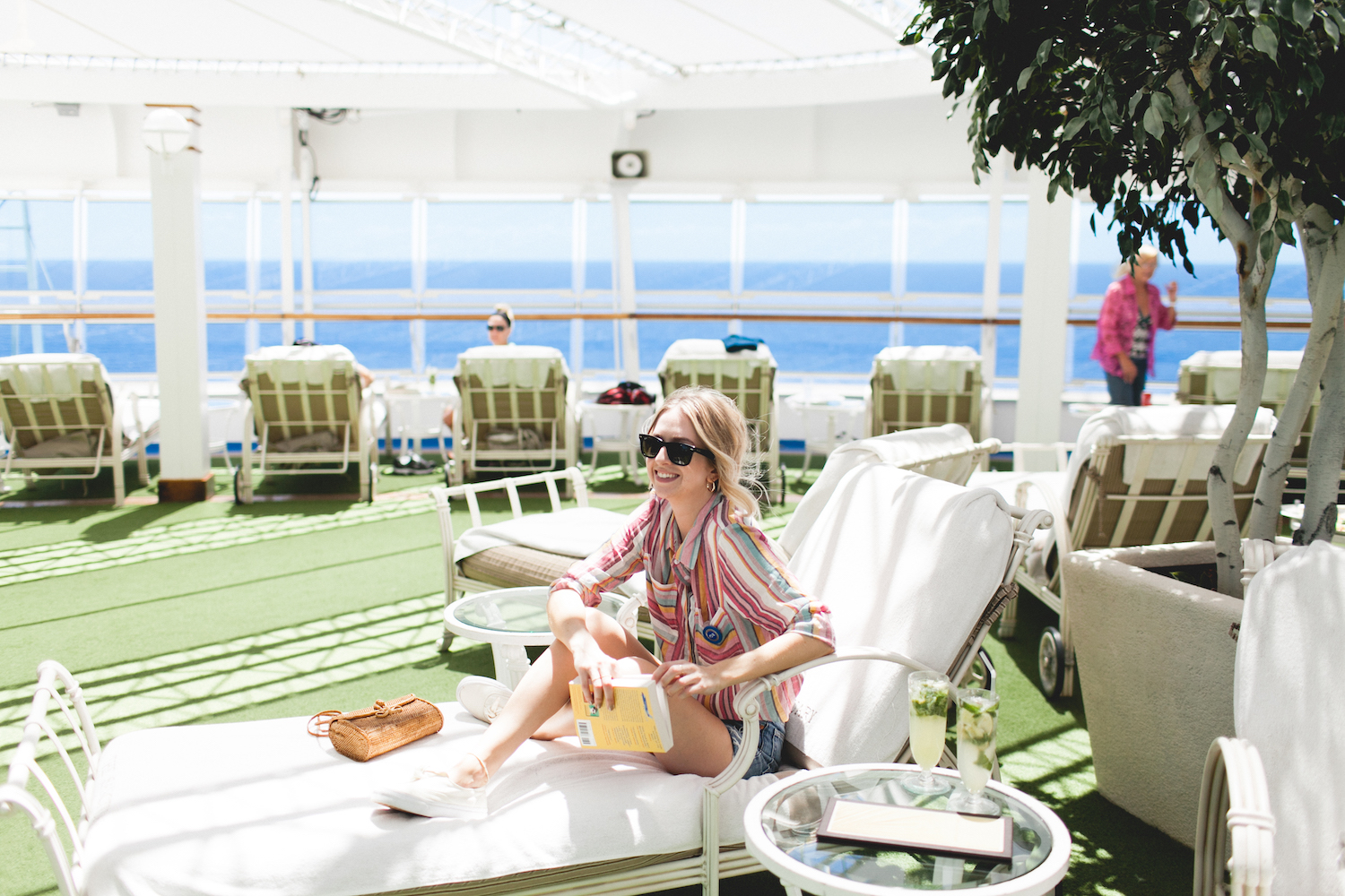 travel, come back new, lido deck, oceannow, terrace pool, fitness center, the love boat, OceanMedallion, Princess Cruises, MedallionClass, Caribbean cruise, 7 Day Western Caribbean Cruise, sanctuary, mojito,