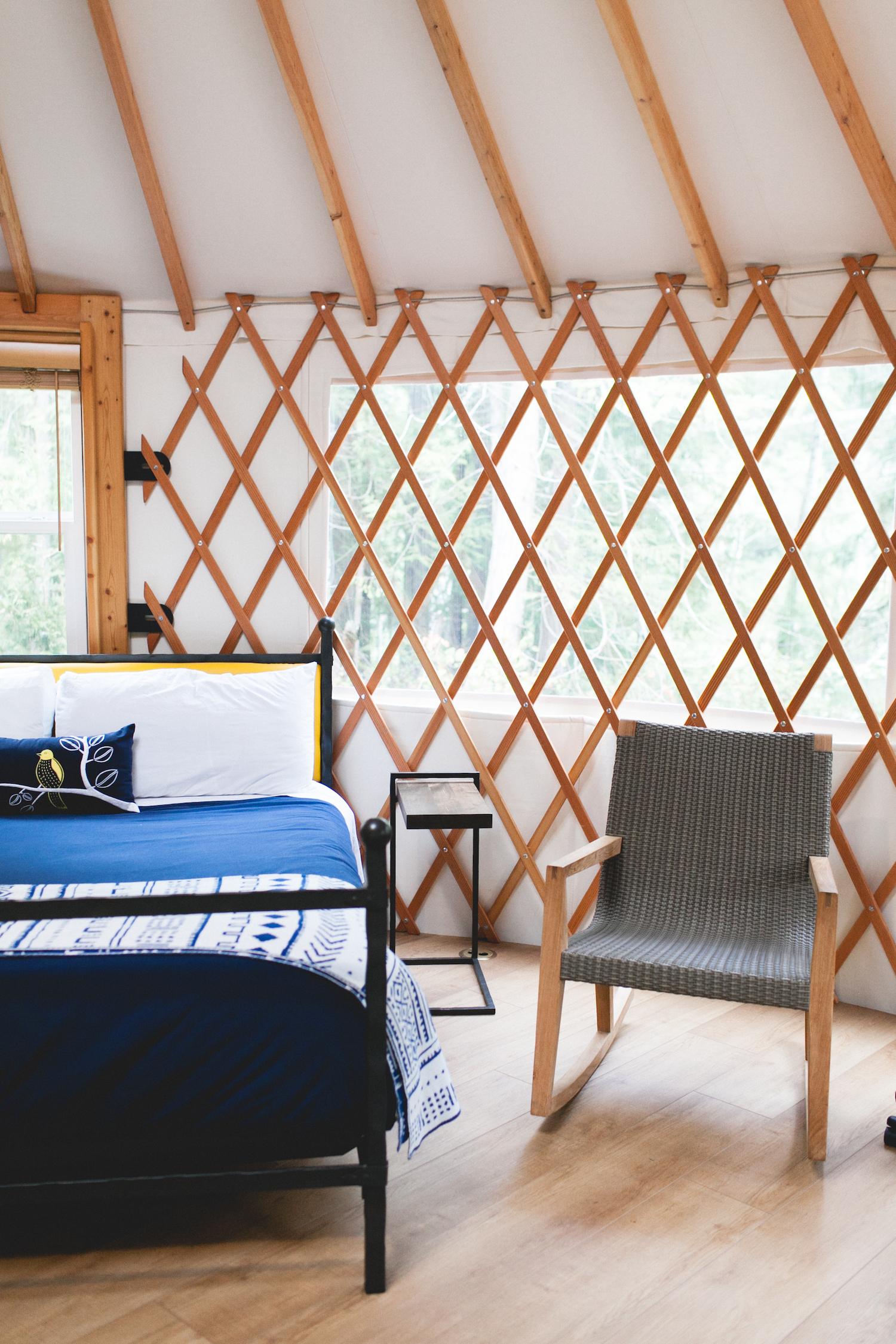 Yurt Glamping at Lakedale Resort | truelane