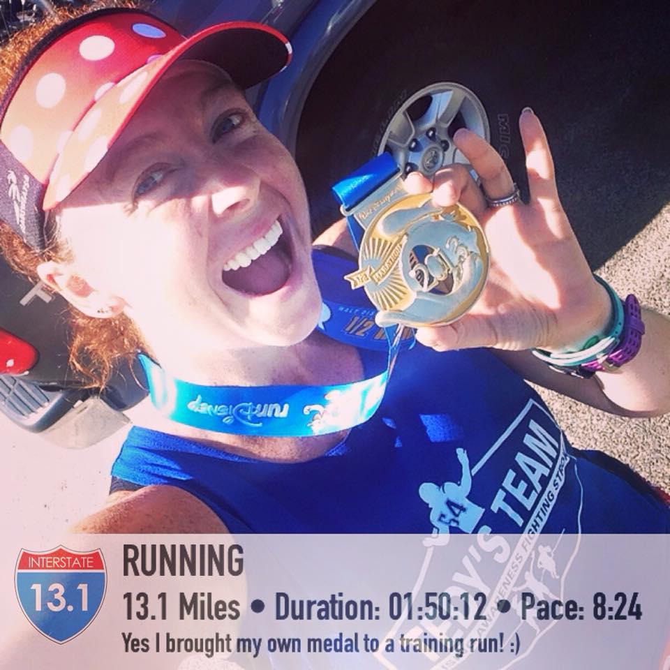 Sunday's long run!