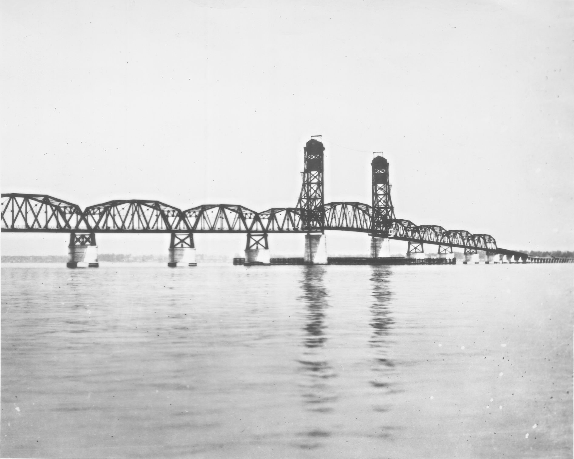 The Old James River Bridge