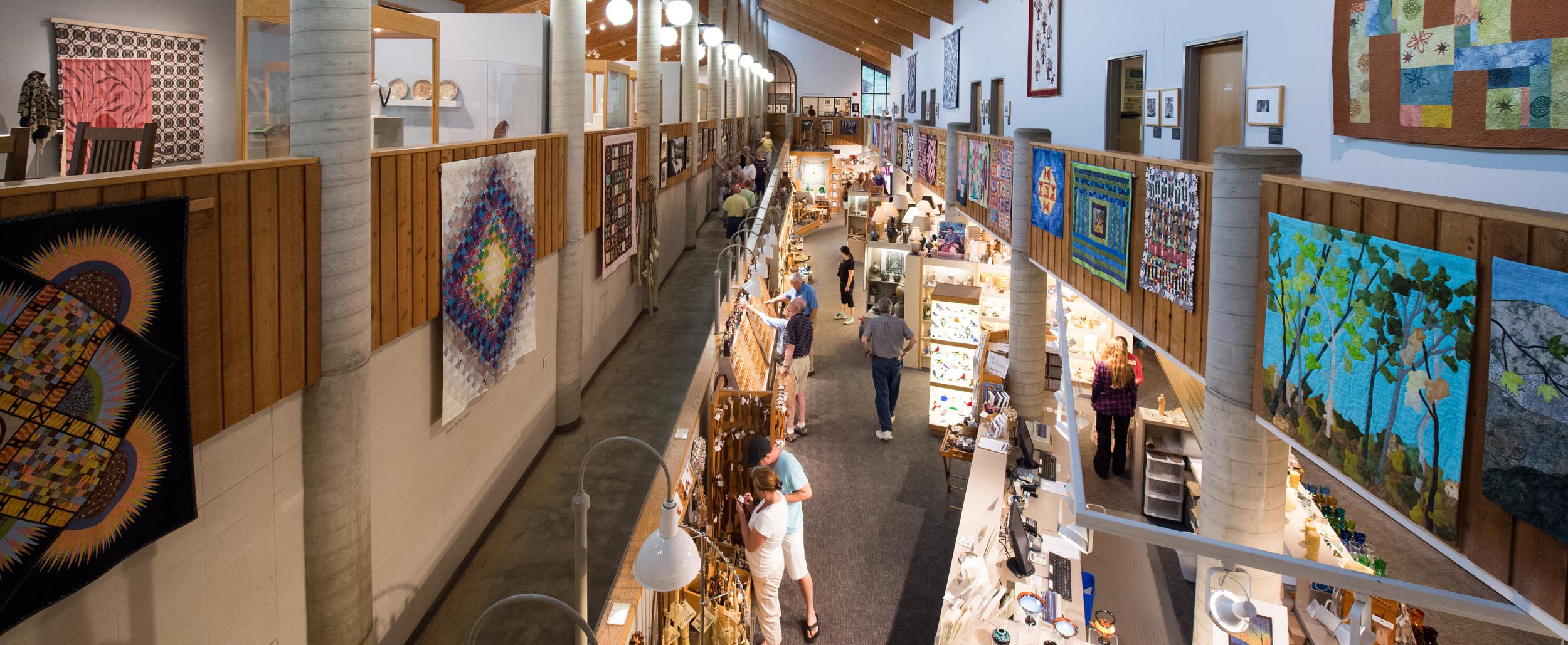 Southern Highlands Folk Art Center Blue Ridge Parkway near Asheville