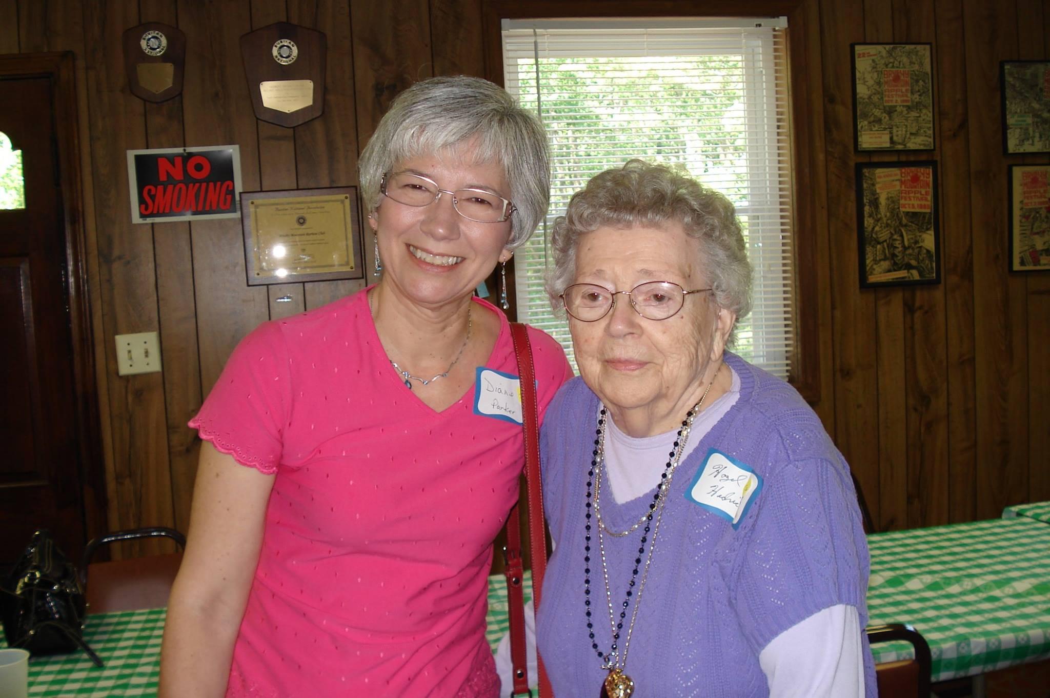 Diane and My Aunt Hazel