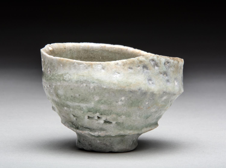 Natural ash guinomi (sake cup)  自然釉 ぐい呑