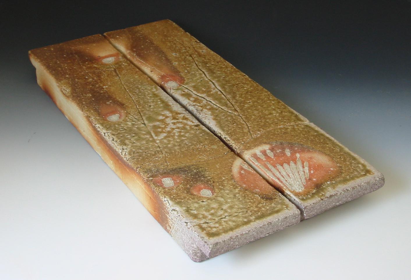 Sushi platters, natural ash