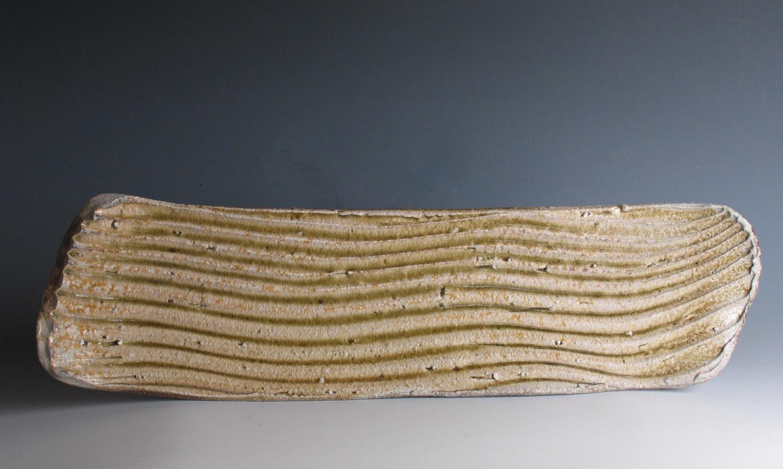 Rib platter, natural ash