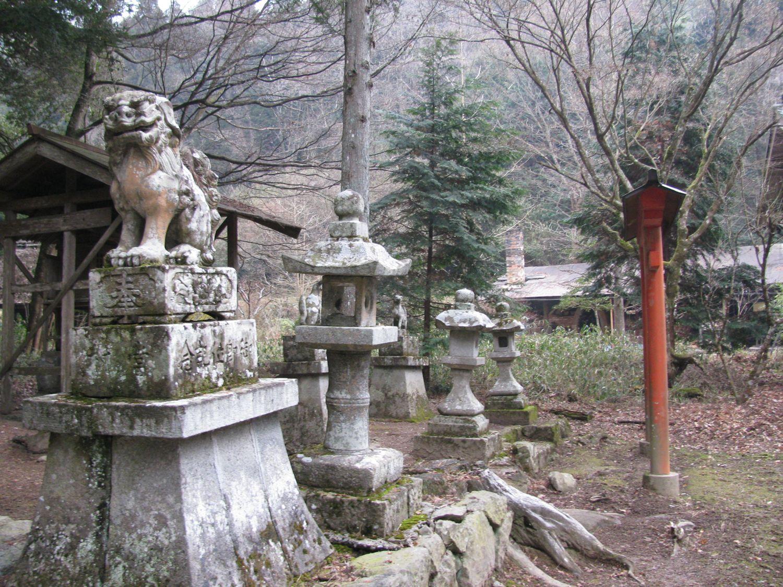 Chimney from shrine