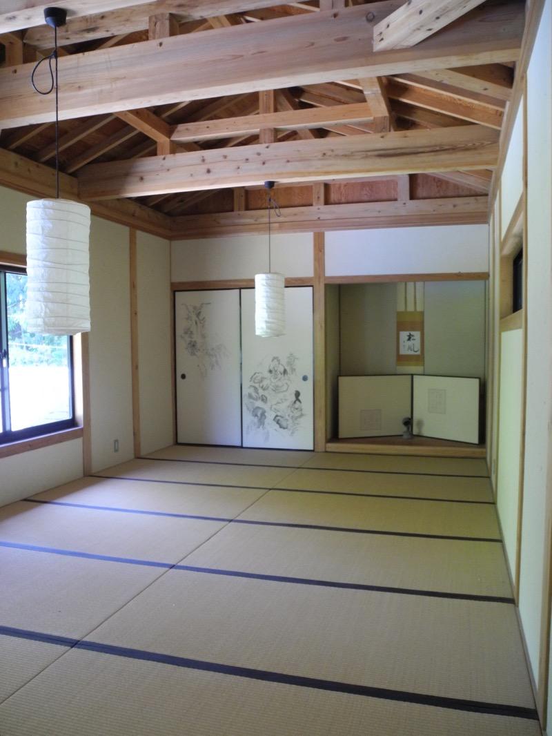 Tatami room in Ogami