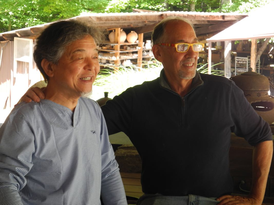Saiki with Jeff Shapiro.