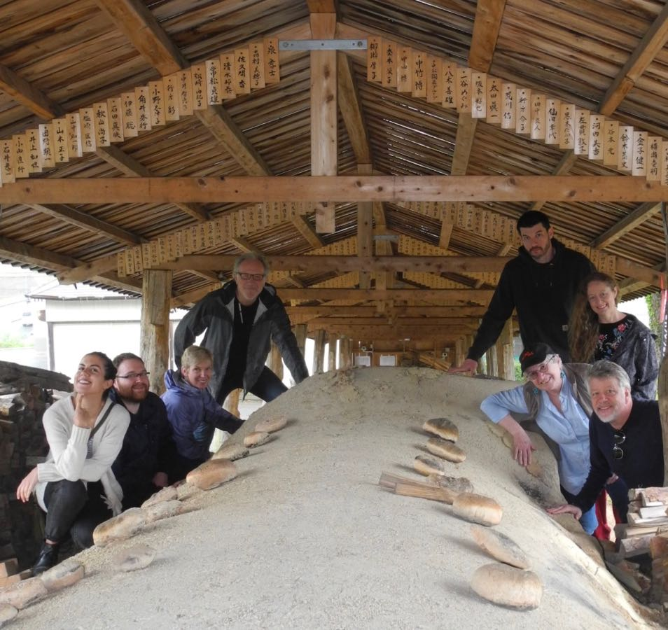 Visiting the Tanba kilns