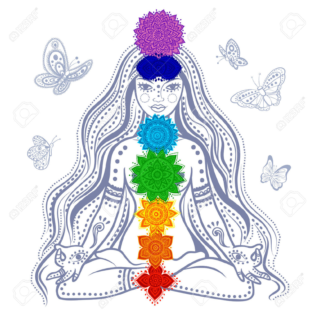 26526006-Illustration-of-a-Girl-with-7-chakras-and-butterflies-Stock-Vector.jpg