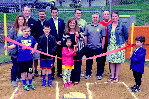 Grand Re-Opening of Hoffman Field in Oradell. Thank you to the Oradell LL, and the Borough for improving this field for our children,