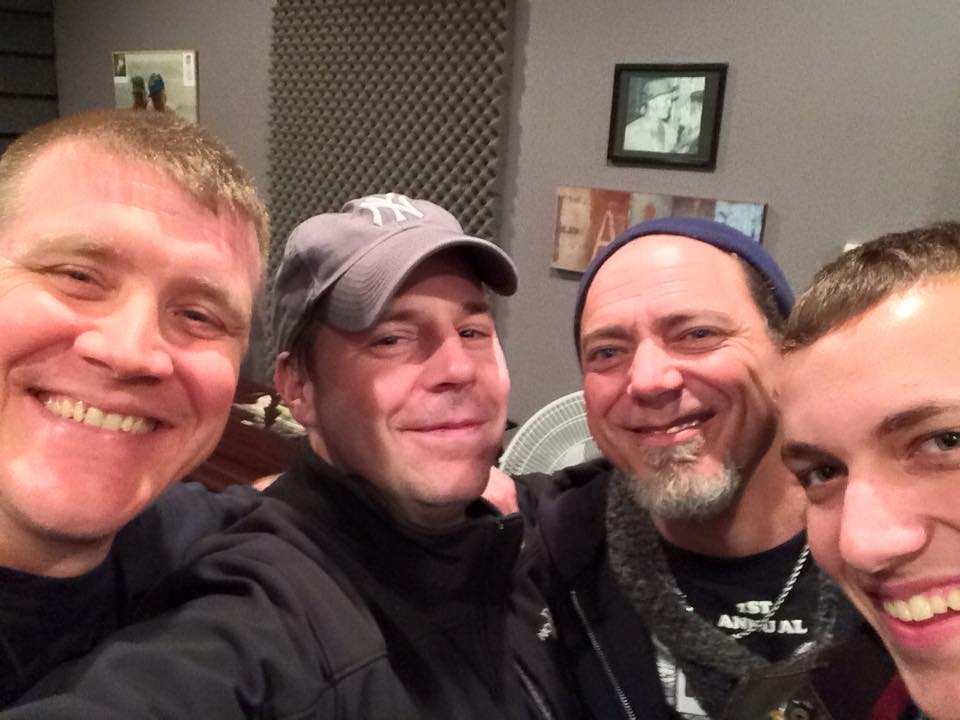 (pictured: Chad Dean, Thomas Westcott, Tim Ruffo, Nick Ruffo)