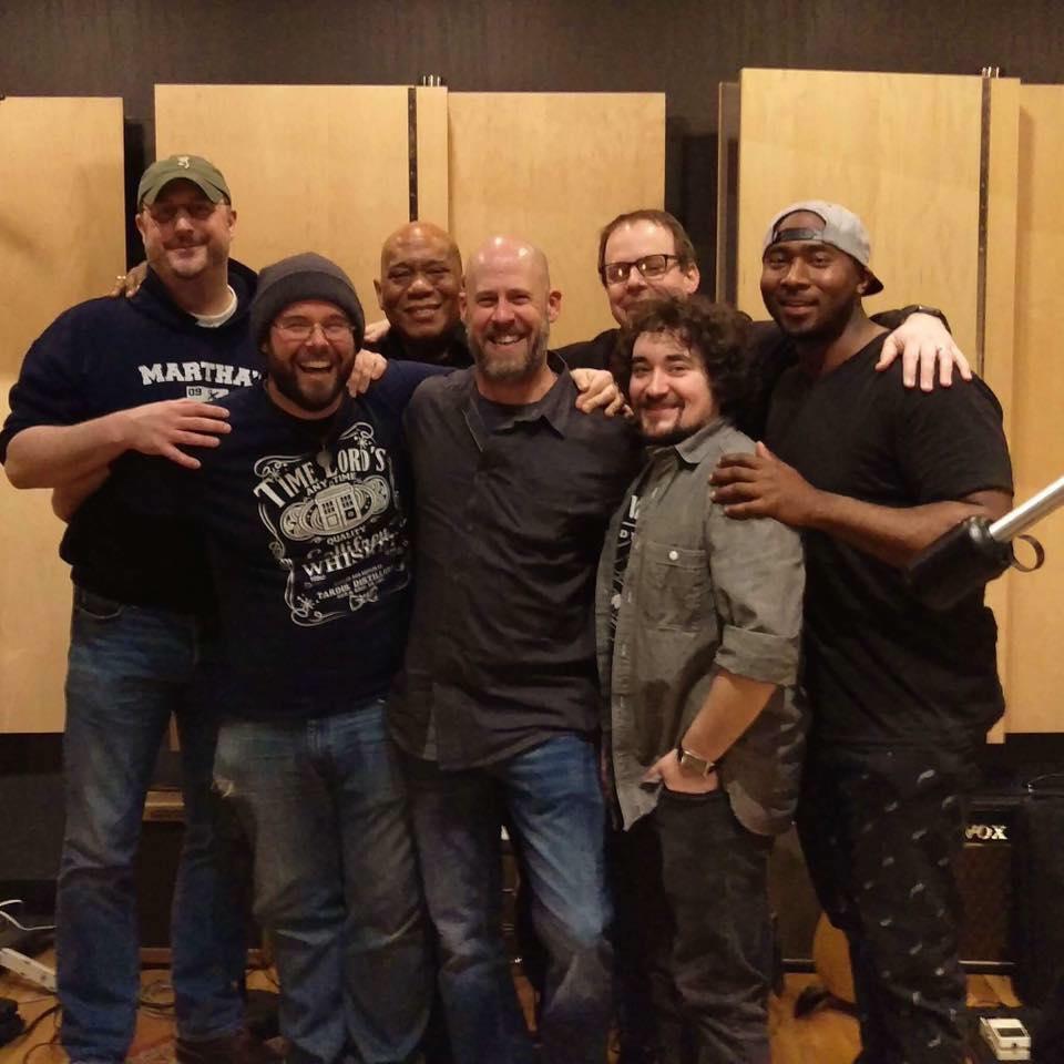 (L-R: Dan Matlack, Mike Davis, Michael Hill, Brian Golden, Thomas Westcott, Matt Wade, Byron Cage)