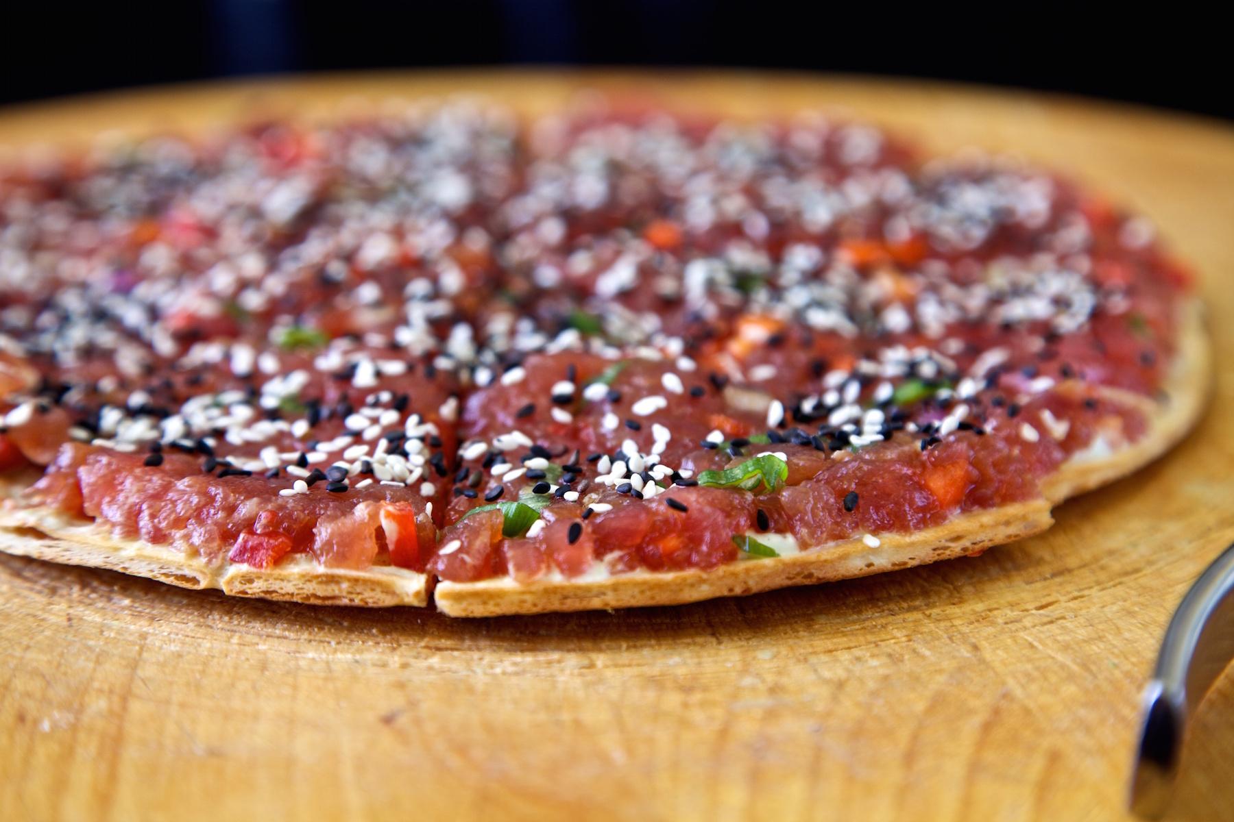 Ruby's Oyster Bar Tuna Pizza