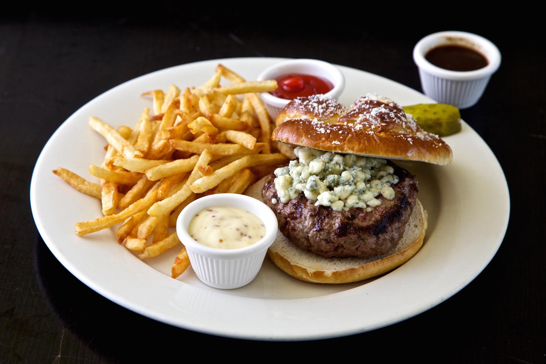 Ruby's Oyster Bar Rye NY Bistro Burger