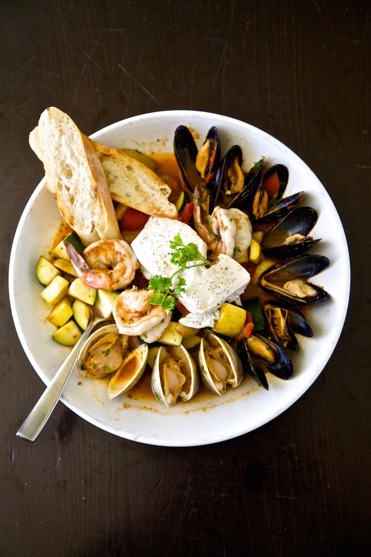 Ruby's Oyster Bar and Bistro Bouillabaisse