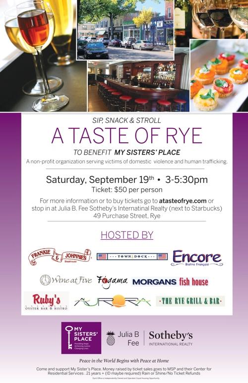 Ruby's Oyster Bar & Bistro Taste of Rye